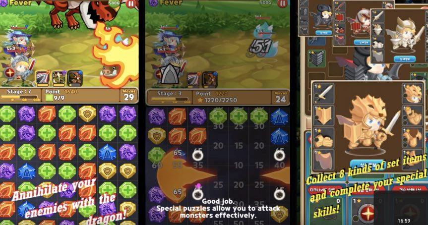 Puzzle and Hero hack