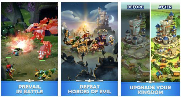 Quests & Kingdoms hack month card