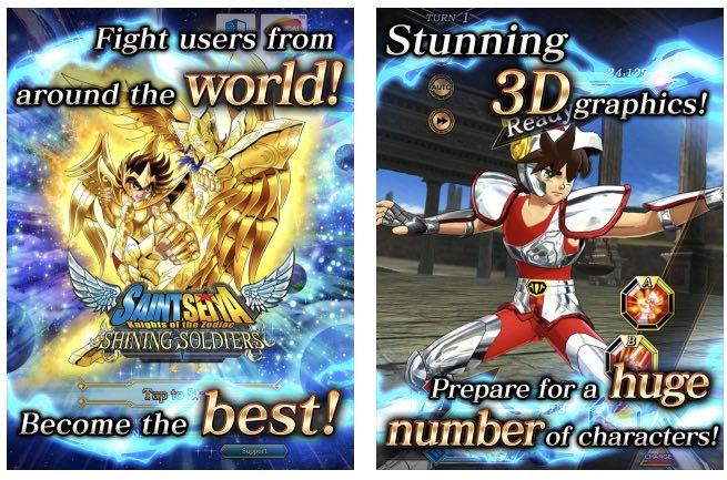 Saint Seiya Shining Soldiers hack