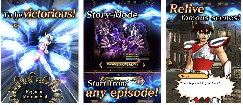 Saint Seiya Shining Soldiers tips