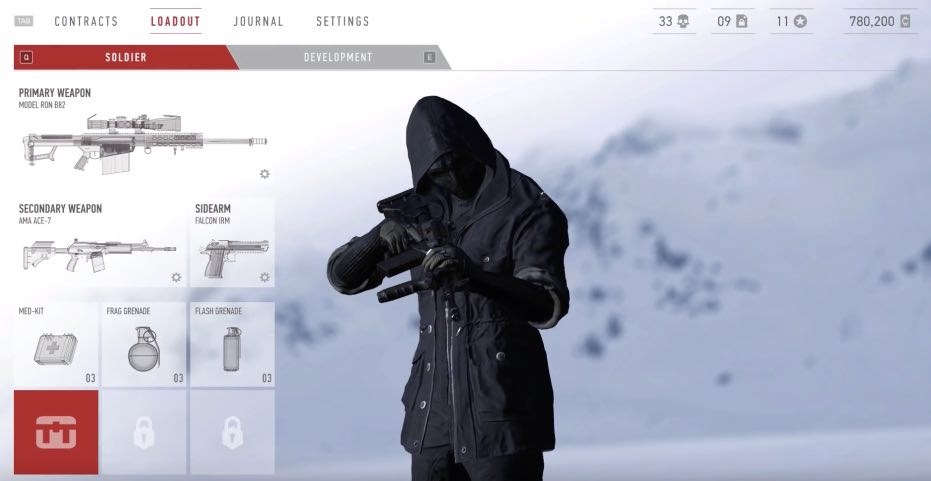 Sniper Ghost Warrior Contracts hack