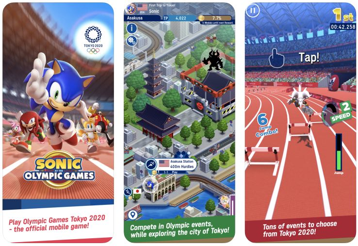 Sonic at the olympic games hack