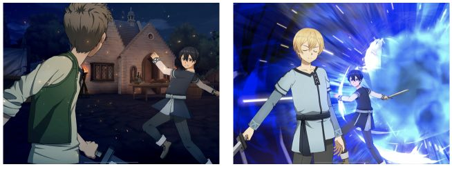 Sword Art Online Alicization Rising Steel tips