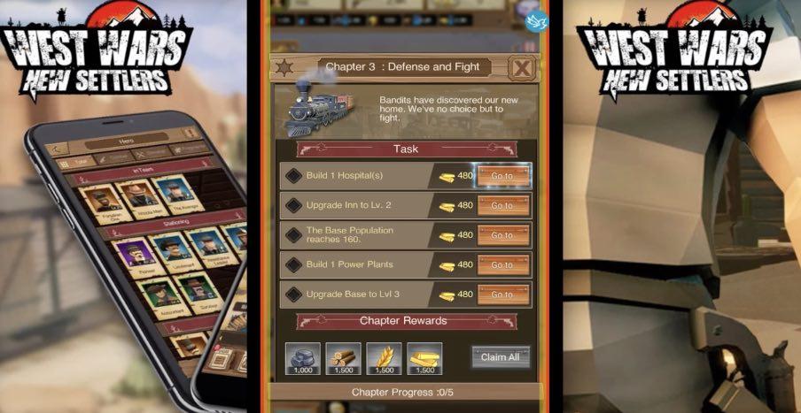 West Wars New Settlers wiki