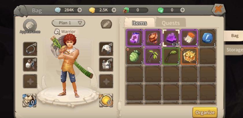 World of Cavemen tutorial